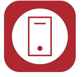 Mobile App - Apple Icon Red